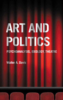 "Book cover: ""Art and Politics: Psychoanalysis, Ideology, Theatre#8221;"